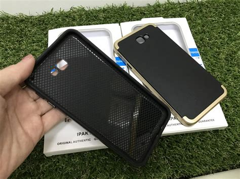 Back Samsung J5 Prime Ipaky Caae Silver samsung galaxy j5 j7 prime ipaky carbon fiber silicon tpu back 11street malaysia cases