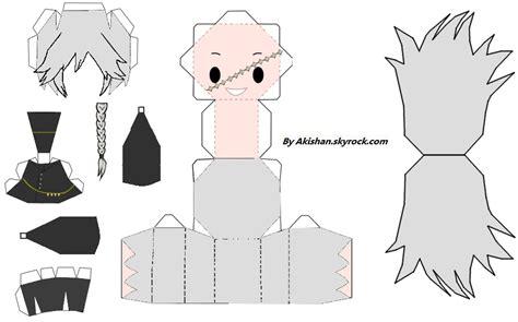 Kuroshitsuji Papercraft - undertaker papercraft by akishan creation on deviantart