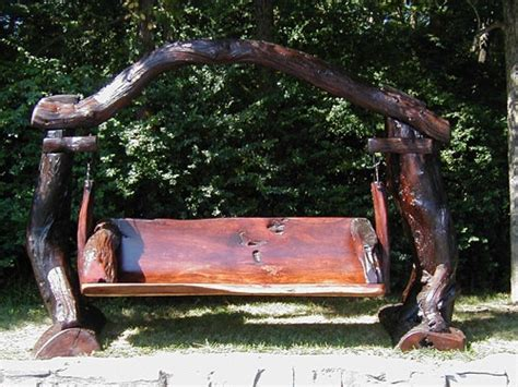 rustic garden swing roundup garden bench swings washington dc