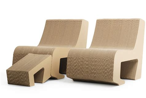 Paper For Furniture by Cardboard Furnishings Collection Prejudice From Sanserif