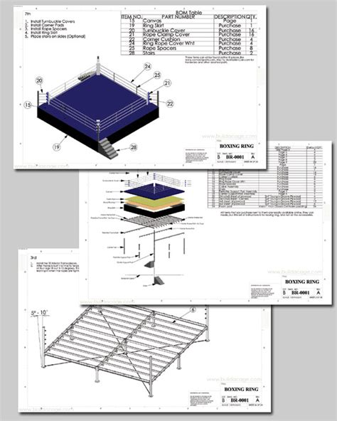 home designer pro blueprints boxing ring plans and blueprints pdf pdf woodworking