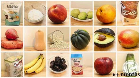 fruit 5 month baby pregnancy baby care baby food chart 4 to 6 months 9 to 12