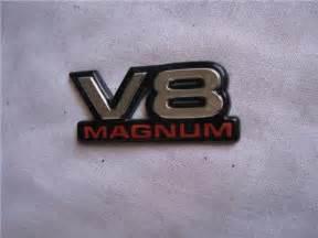 Dodge Dakota Emblems Dodge Ram Durango Dakota V8 Magnum Emblem Decal Oem Ebay