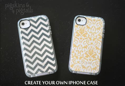 design your cover iphone diy iphone case design pigskins pigtails