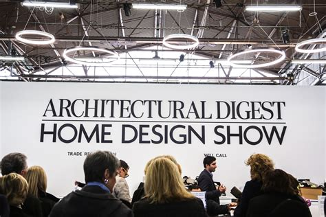 the 13th annual architectural digest home design show sees