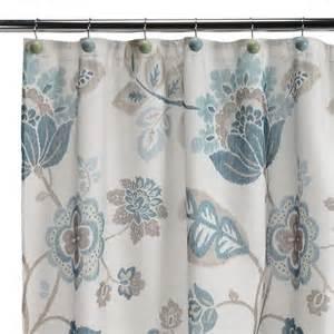 blue cloth shower curtain kazoo fabric shower curtain blue shopko