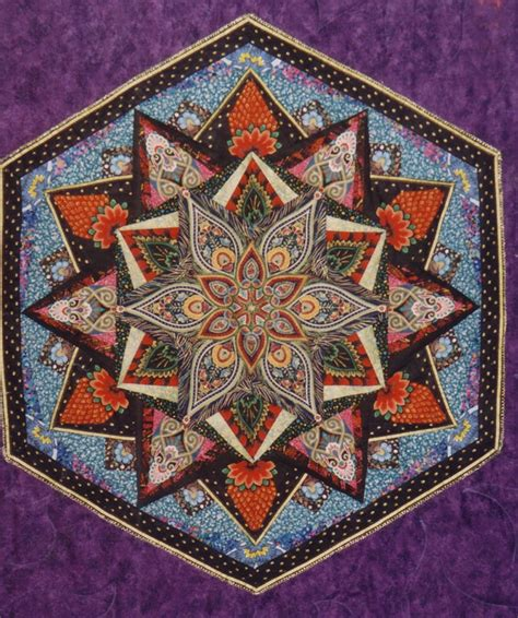 Kaleidoscope Patchwork Quilt Pattern - 158 best kaleidoscope quilts images on
