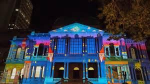 projector light show kokodonat sydney light projection show 2013