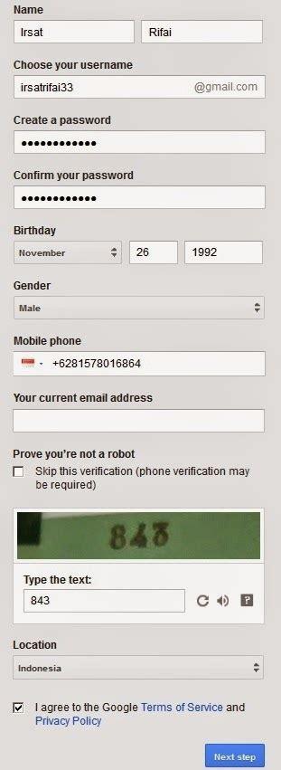 cara membuat email gmail banyak rioajr08