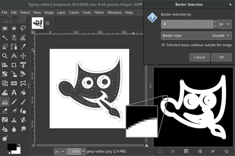 gimp creating a border 10 aplikasi edit foto gambar terbaik download gratis