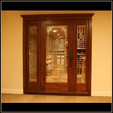Glass Wine Cellar Doors Custom Wine Cellars New Jersey And Custom Wine Cellar Doors Custom Wine Cellars New Jersey