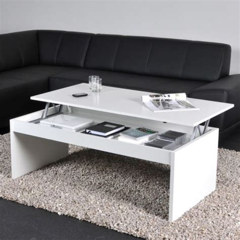 etagere 80x50 table basse relevable apero dinatoire