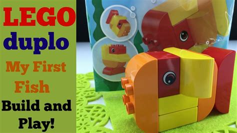 Lego Duplo Polybag My Fish 30323 lego duplo my fish item 30323 build and play