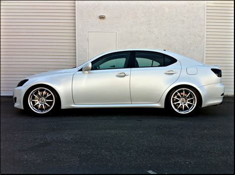 lexus white pearl fresh from the booth lexus is350 in satin white pearl