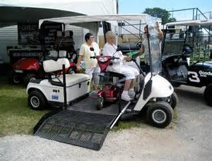Runabout golf carts wheelchair golf carts handicapped special