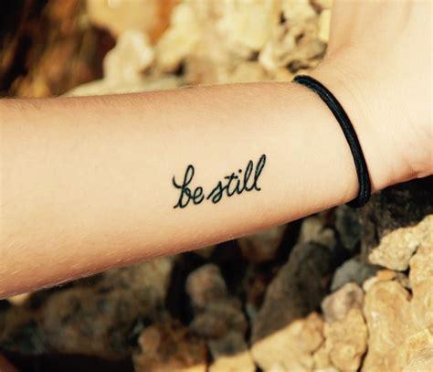 25 beautiful be still tattoo best 25 be still ideas on god tattoos
