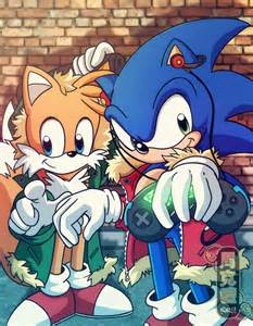 Sonic and tails brothers hip hop sonic and tails by