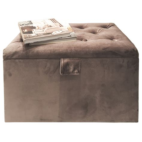 faux suede storage ottoman new ottoman faux suede storage chest toy box beeding linen