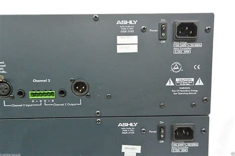 Equalizer Ashly Gqx 3102 Made In Usa Baru ashly gqx 3102 graphic equalizer one made in the usa reverb
