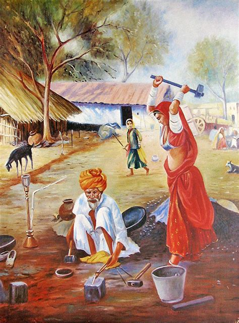 Biography Of Indian Artist   indian art paintings