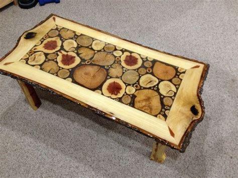 Sliced Log Coffee Table Log Slice Coffee Table With Sassafras White By Liveedgewoodcrafts 1500 00