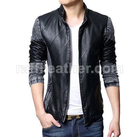 Jacket Kulit Pria Blazer Style Korean 3 Semi Kulit Sintetis Imitasi jual jaket kulit pria wanita fashion stylepedia jual