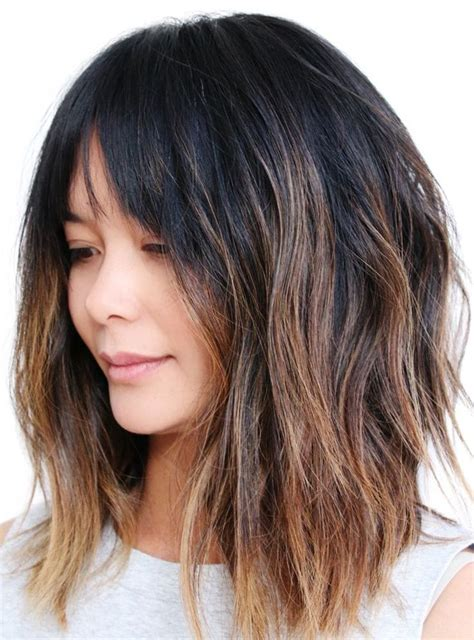 colleen christy chopped hairstyle 25 best ideas about soft bangs on pinterest fringes