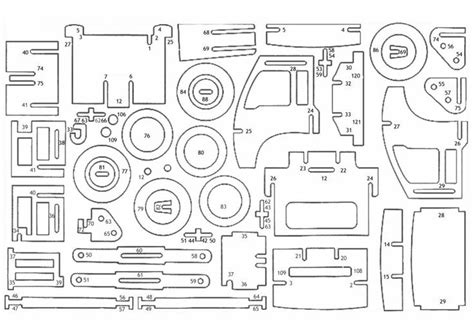 Puzzle Kayu 3d Plane Model B 17 best images about laser cut on wooden