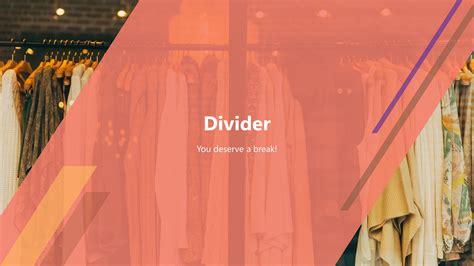 Clothing Apparel Premium Powerpoint Template Slidestore Fashion Slides Template