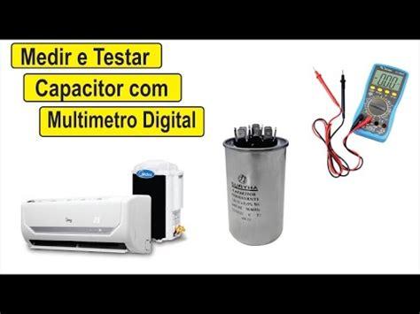 como testar capacitor 1000uf como medir e testar capacitor multimetro digital ar condicionado