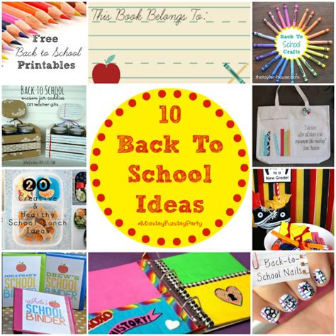10 awesome back to school ideas 4 real