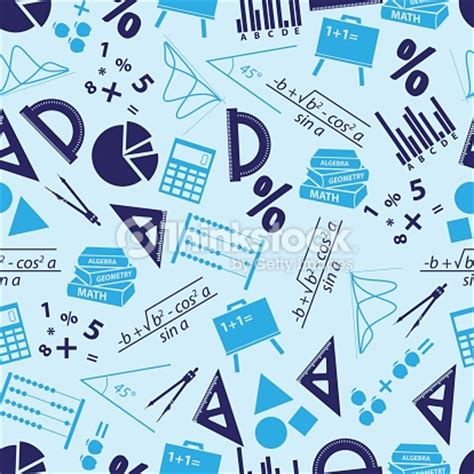 imagenes matematicas gratis matem 225 ticas iconos azules patr 243 n sin costuras eps10 arte