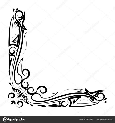 decorative border download decorative border design stock vector 169 angbay 142795335