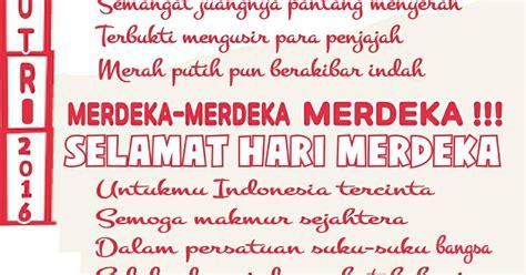 kata kata mutiara menyambut kemerdekaan ri 17 agustus puisi cinta by anisayu puisi pantun hut ri dirgahayu