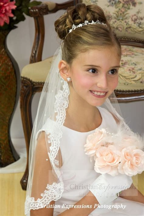 pictures of childrens hair with communion veil 133 best images about holy communion on pinterest satin