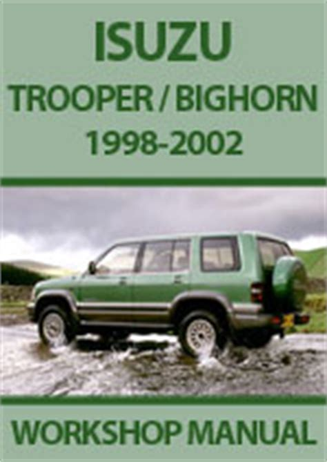 hayes car manuals 2000 isuzu trooper auto manual isuzu n series trooper bighorn repair manuals workshop manuals service manuals download pdf