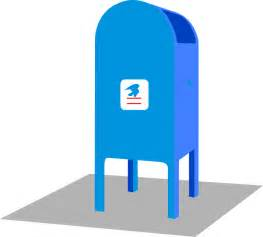 free post office clipart