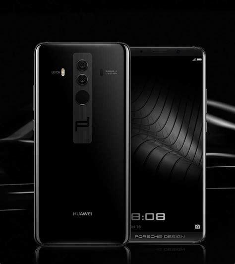 Huawei Mate 10 Pro Porsche Design Black Ram 6gb Rom 256gb porsche design huawei mate 10 luxury android phone huawei global