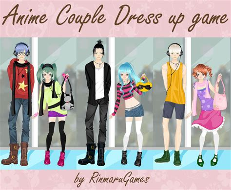 anime couple dress up game by rinmaru on deviantart