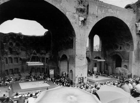 Modern Baths rome 1960 olympic games replay the games italy magazine
