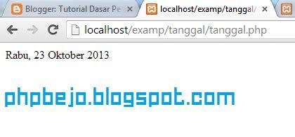 tutorial dasar c bahasa indonesia phpbejo membuat tanggal dalam format bahasa indonesia