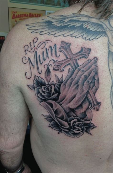 tattoo quotes london praying hands for mum in england luke wessman self