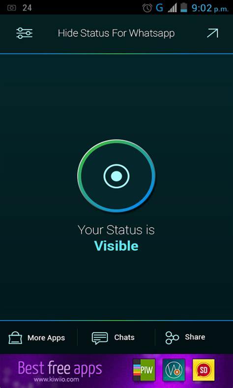 tutorial hide whatsapp status download hide whatsapp status apk for free on getjar