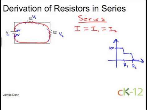 resistors in series tutorial equation resistors in series 28 images series resistor calculator calculate series