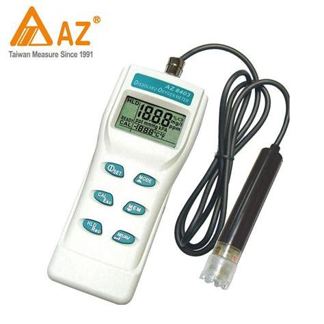 Jual Az Instrument 8402 Dissolved Oxygen Meter jual taiwan az az8402 portable dissolved oxygen meter murah bmd store
