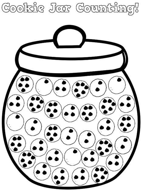 Cookie Jar Coloring Page Printable Coloring Pages Coloring Page Of A Jar In Coloring Style Printable Cookie Template