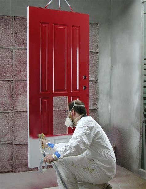spray painting exterior doors steel fiberglass entry doors philadelphia guida door