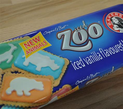 Zoo Chocolate Biscuit by Bakers Iced Zoo Biscuits 150g The Biltong Farm