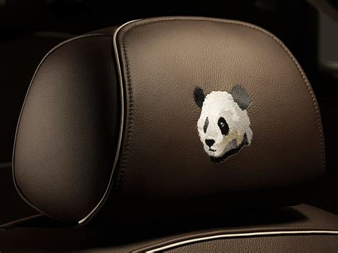 roll royce panda rolls royce ghost chengdu panda for china