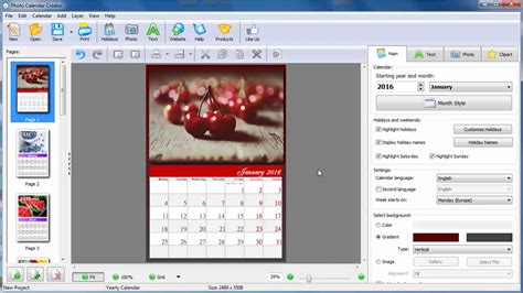 make own calendar with pictures how to make your own calendar for 2016